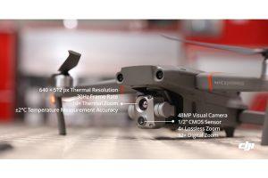【プレスリリース情報】 熱画像技術と精度が向上し、専門性の高いドローンオペレーションへ活用できるMavic 2 Enterprise Advancedを発表